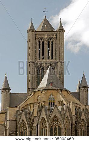 St Nicolas church Ghent Belgium