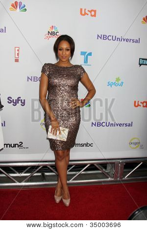 LOS ANGELES - AUG 1:  Tamara Mowry arriving at the NBC TCA Summer 2011 Party at SLS Hotel on August 1, 2011 in Los Angeles, CA