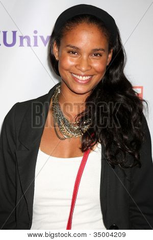 LOS ANGELES - AUG 1:  Joy Bryant arriving at the NBC TCA Summer 2011 Party at SLS Hotel on August 1, 2011 in Los Angeles, CA