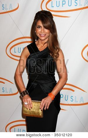 LOS ANGELES - MAY 12:  Paula Abdul arriving at the 11th Annual Lupus LA Orange Ball at Beverly Wilshire Hotel on May 12, 2011 in Beverly Hills, CA