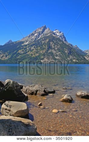 Jenny Lake In Grand Teton