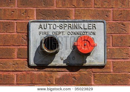 Tubos de Auto-sprinkler bombeiros