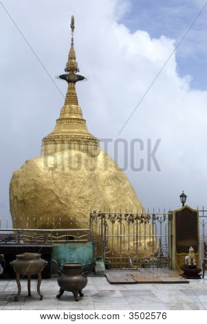 Golden Rock And Shrine