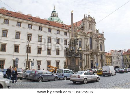 Saint Nicholas Church Mala Strana. Prague