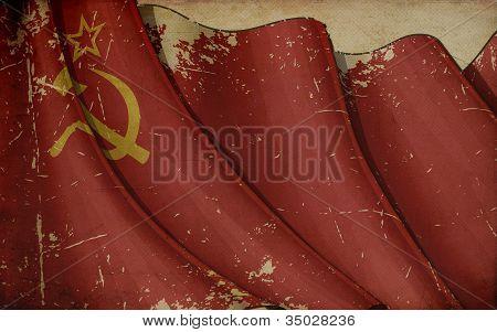 Papel antiguo de la Unión Soviética