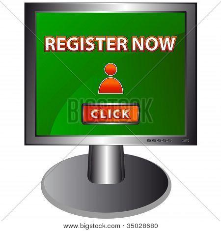Button Register Now