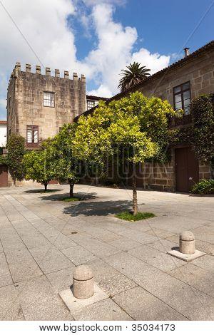 House of Laranjais in Guimaraes, European Capital of Culture 2012