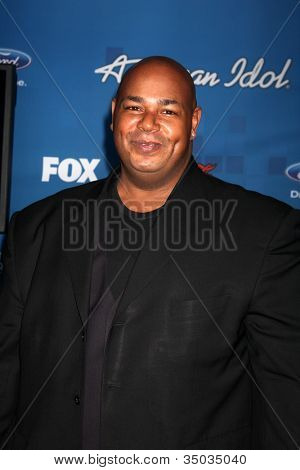 LOS ANGELES -  3: Kevin Michael Richardson arrives at the American Idol Season 10 FInalists Party at The Grove on March 3, 2011 in Los Angeles, CA