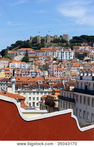Castle hill, Lisbon, Portugal