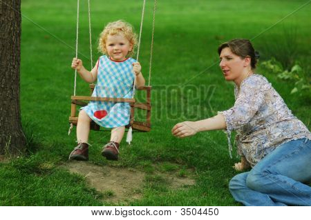 Girl On Seesaw