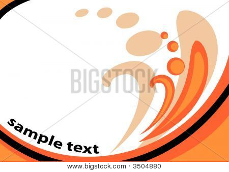 Vector Color Autumnal Background