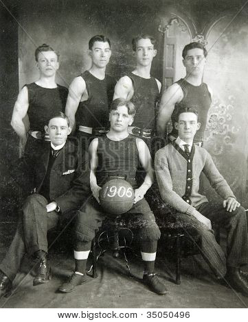 Vintage Basketball Team