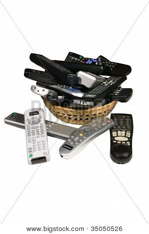 Old Remote Controls