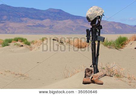 Fallen Soldier Gravesite