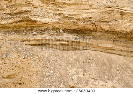 Gravel Pit Career Construction Geological Layer