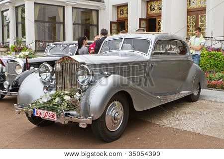BADEN-BADEN, GERMANY- JULY 13: A ROLLS-ROYCE PHANTOM (1933)  at The International Exhibition of old cars