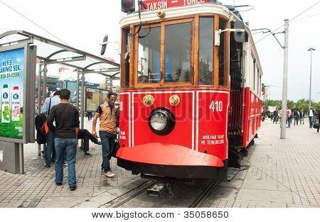 Taksim Tram 1875