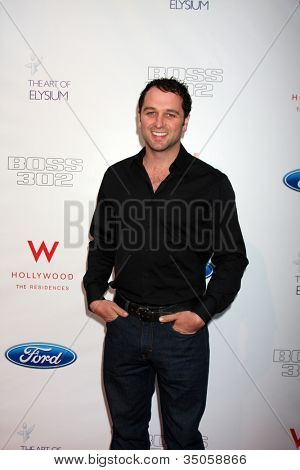LOS ANGELES - JUN 9:  Matthew Rhys arriving at the Art of Elysium Return of Ford Mustang Boss Event at The Residences at W Hollywood on June 9, 2011 in Los Angeles, CA