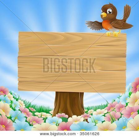 Rustic Woodland Sign