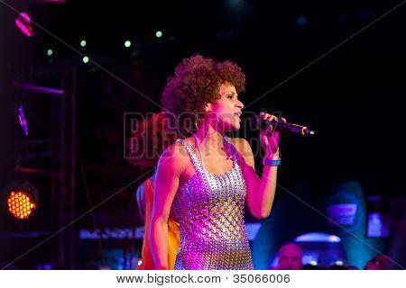 Singer Oceana On Uefa Euro 2012 Show