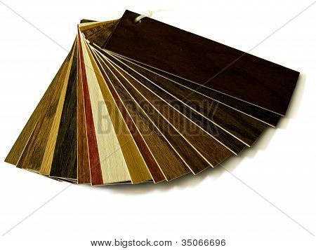 Sample Pack Of Wooden Flooring