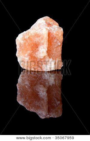 Beautiful specimen of rock salt from Salzburg in Austria, a mineral that is composed of sodium chloride
