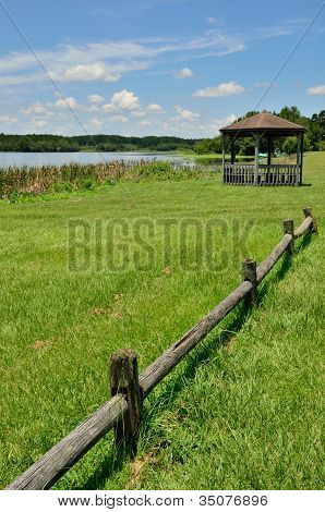 Gazebo at Reed Bingham State Park