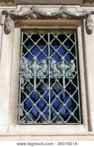 Pretty ornate window dressing