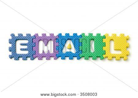 Block Foam Letters