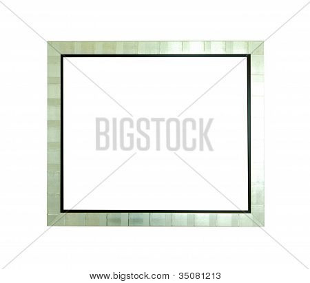 Blank Silver Picture Frame