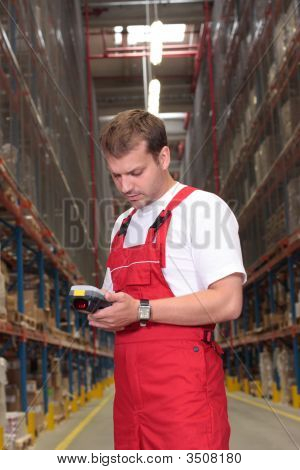Worker Counting Stocks