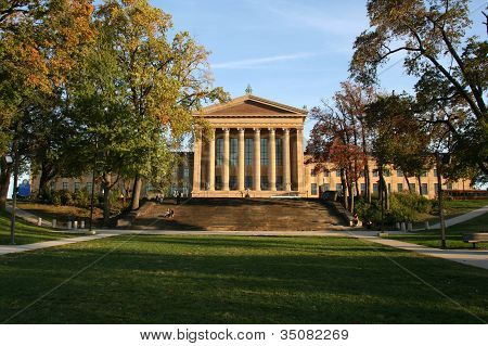 Philadelphia Museum of Art in the Fall