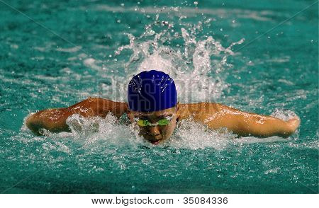Swimmer Marellyn Liew