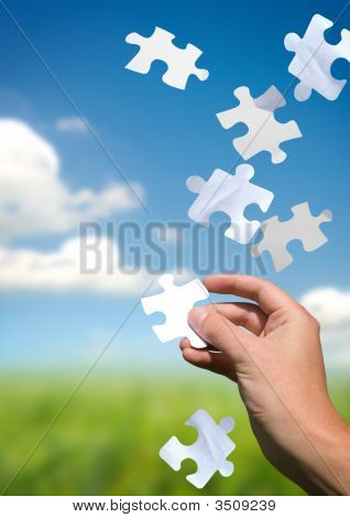 Pulling Puzzle Pieces