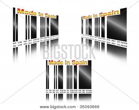 barcode made in spain