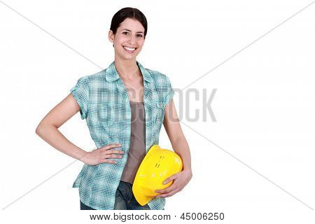 Manual female worker.