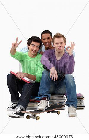 Estudantes do ensino médio