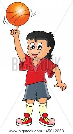 Sport and gym topic image 7 - eps10 vector illustration.