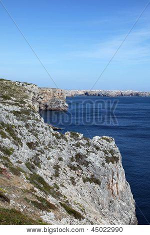 Rugged Cliffs - Sagres Portugal