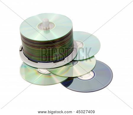 Cds On Spindle