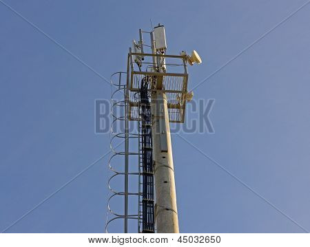 Microwave And Cellular Tower