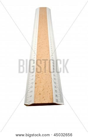 Measuring Wooden Ruler