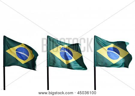 Photo of Brazilian flags
