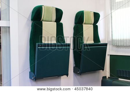 Retractable Train Seats
