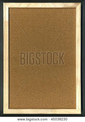 Blank Cork Board