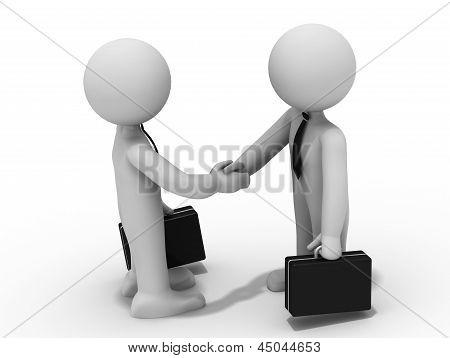 3D Handshake