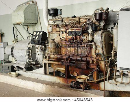Old Diesel Generator