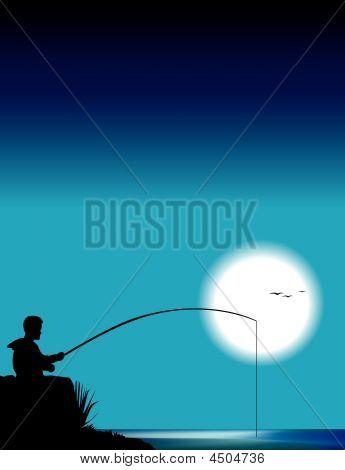 Fisherman At Night [converted].eps