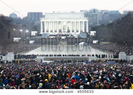 Lincoln Memorial Obama Inauguration Konzert
