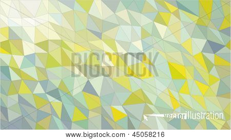 abstract background from color triangles